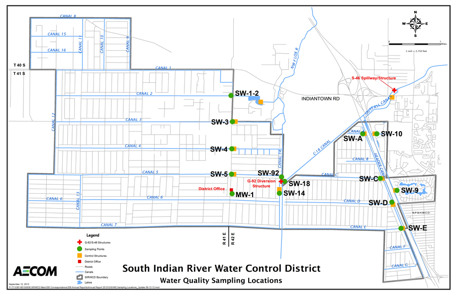 SIRWCD Water Quality Monitoring